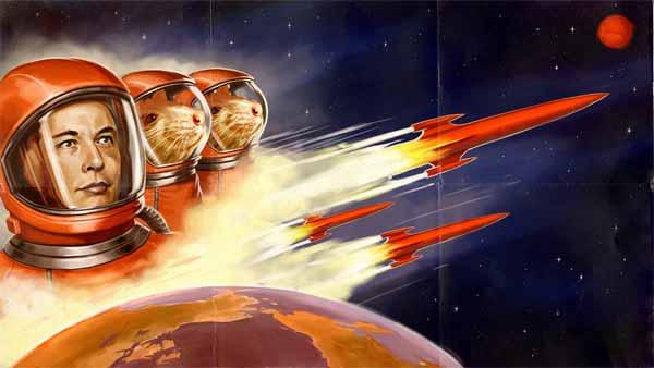 """Elon Musk prévient les futurs pionniers martiens : """"Il y a de forte chance que vous allez mourir"""""""
