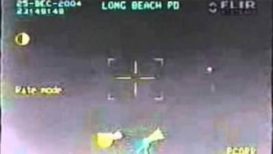 Vidéo: Un Ovni filmé par un hélicoptère de la Police à Long Beach