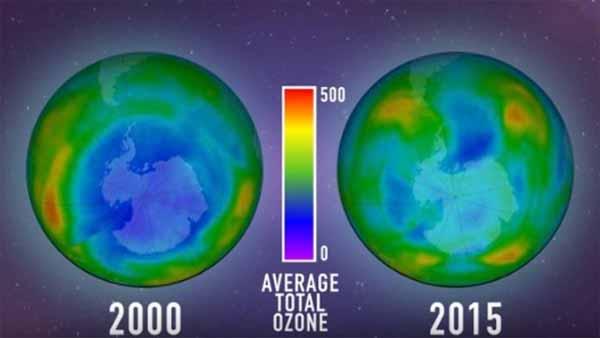 En Antarctique, le trou dans la couche d'ozone serait en train de se résorber