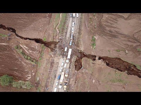 Vidéo: Les géologues ont maintenant des preuves que l'Afrique se divise physiquement en deux continents