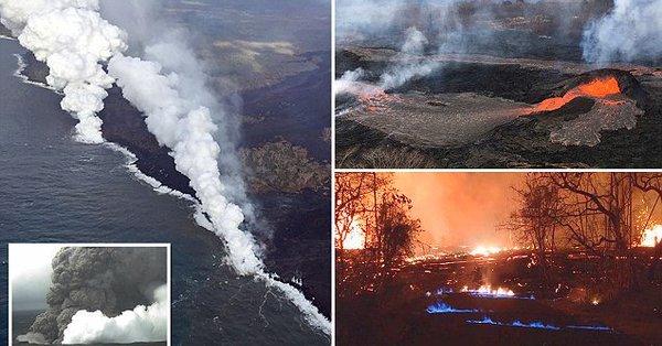 Hawaï: Le volcan Kilauea pourrait créer un glissement de terrain qui engendrerait un tsunami de 300 mètres