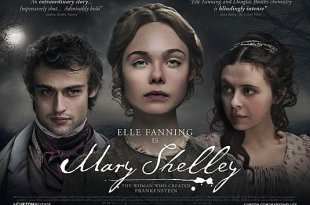 Elle Fanning est Mary Shelley