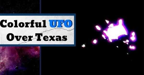 Vidéo: Un Ovni multicolore totalement déjanté repéré dans le ciel de Houston