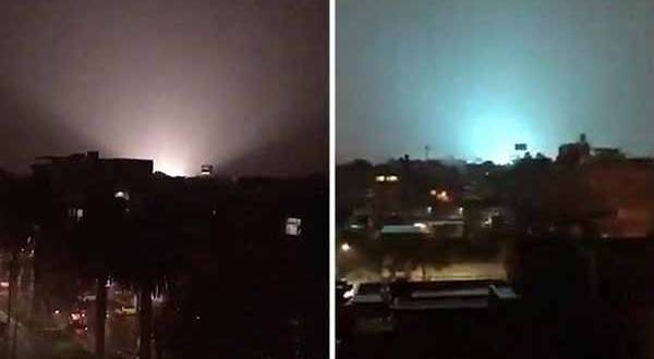 Des lumières énigmatiques ont été filmées la nuit au Mexique