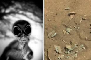 """DISSIMULATION DE LA NASA : Choc après la découverte d'un """"fossile sur MARS"""" – allégations EXPLOSIVES"""
