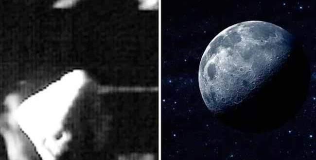 Une Pyramide REPÉRÉE sur la Lune