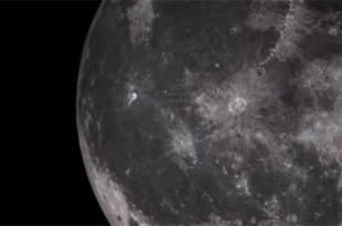 Vidéo d'un OVNI qui décolle depuis la Lune