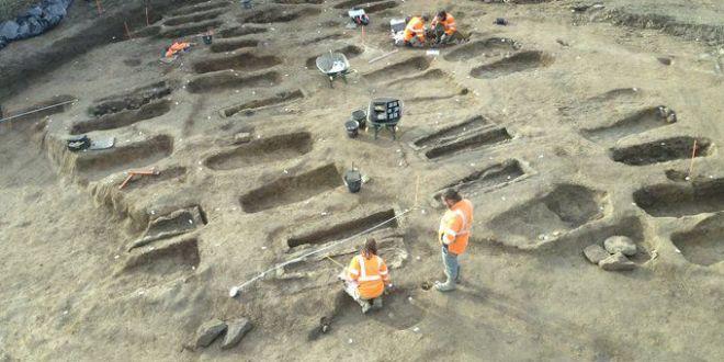 Une nécropole mérovingienne de 99 sépultures découverte en Vendée