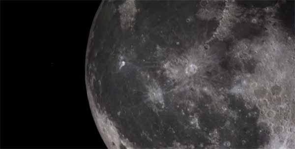 Un OVNI qui décolle depuis la Lune?
