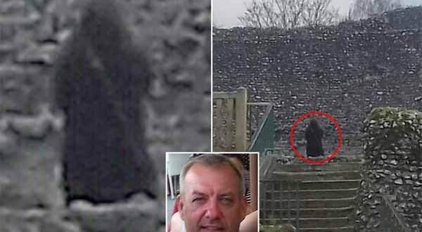 Le fantôme d'un moine repéré dans un château anglais