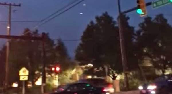 3 OVNIs filmés par des témoins à Salt Lake City
