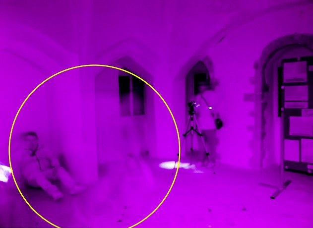 Ghost Caught By Full Spectrum Camera