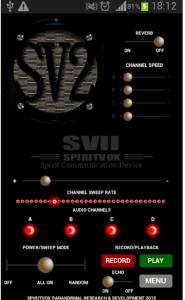SV2 Spirit Box App