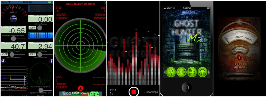 5 Best Ghost Apps For iPhone [2019] - Paranormal School