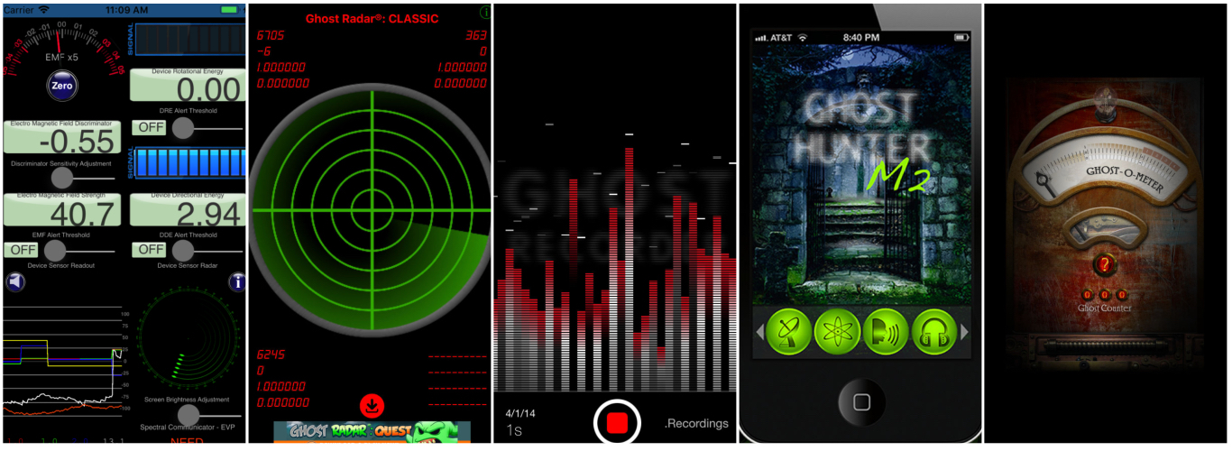 Best Ghost Hunting Apps 2019 5 Best Ghost Apps For iPhone [2019]   Paranormal School
