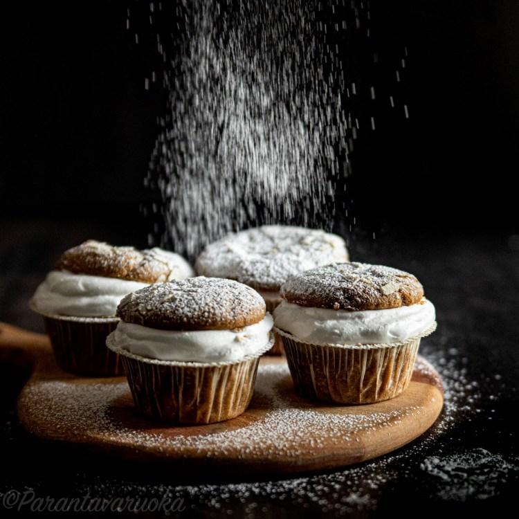 laskiaispulla muffinssit