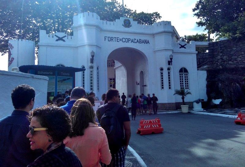Forte de Copacabana - Confeitaria Colombo