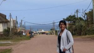 Juju nas ruas de Punta del Diablo