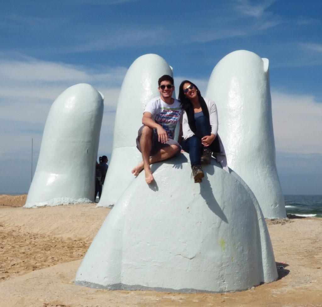 Los Dedos - Punta del Este- Mochilando