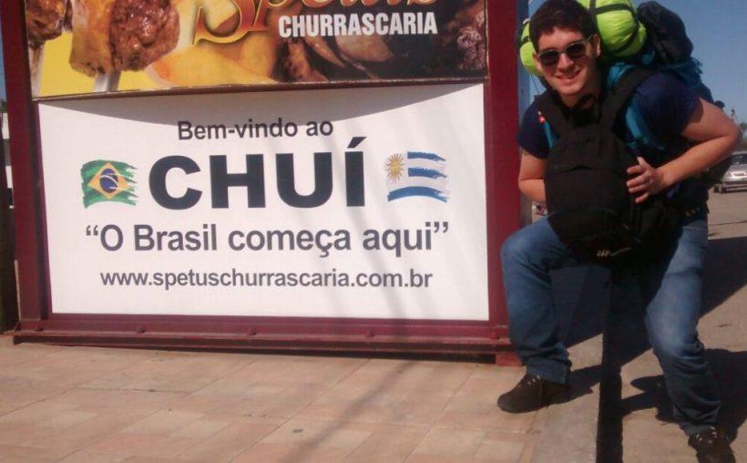 fronteira com o uruguai