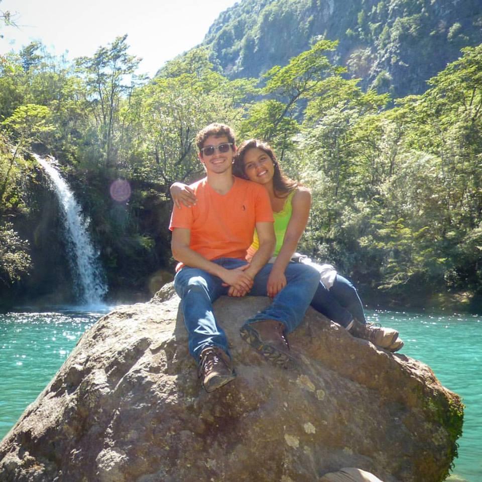 Laguna de los enamorados - Saltos del Petrohue