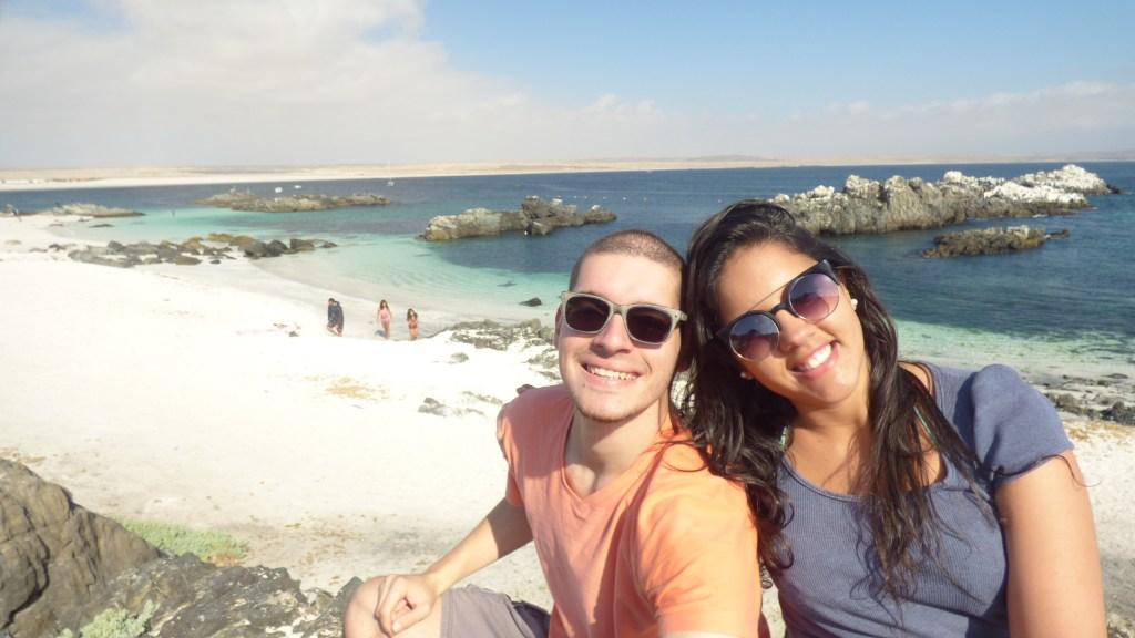 Bahia Inglesa, uma das praias do Deserto do Atacama