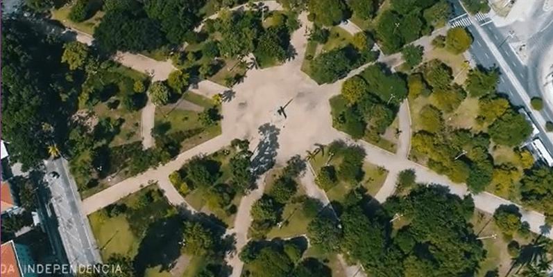 João Pessoa vista de cima: belo vídeo