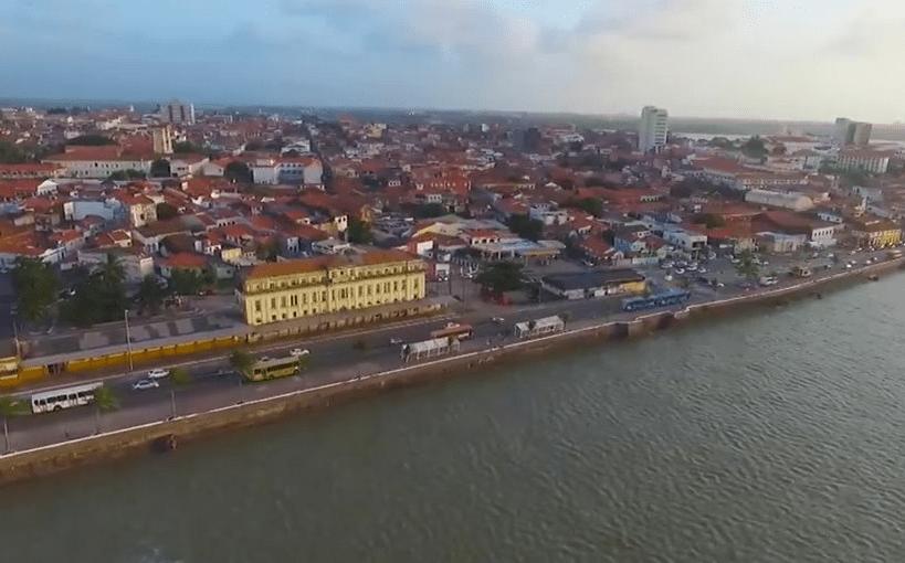 Belas imagens aéreas de São Luís do Maranhão