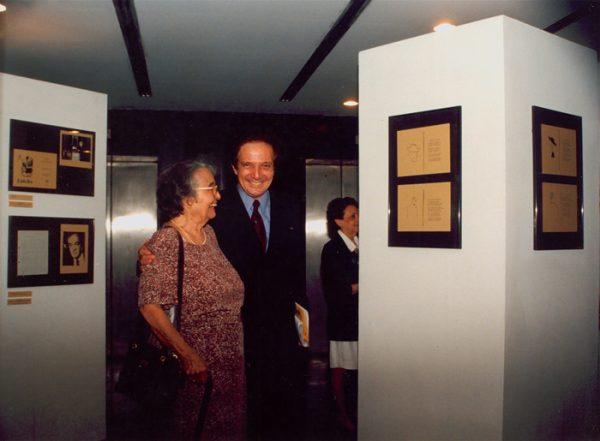 Rachel de Queiroz com Eduardo Portela