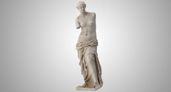 Vênus de Milo, no Museo do Louvre