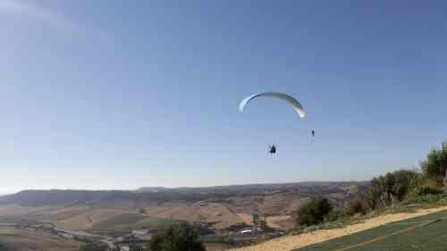 Vuelo en Parapente Vejer vuelo en parapente Vuelo en Parapente Biplaza 53