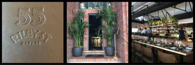 55 Riley Street Garage: Entrance, Bar, Dining