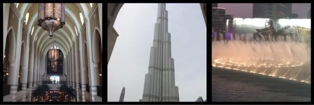 Souk Al Bahar, Burj Khalifa, Dubai Fountain Downtown Dubai