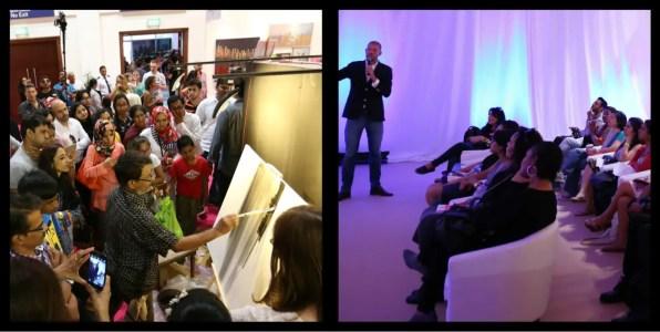 Workshops. World Art Dubai April 2015