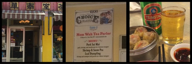 Nom Wah Tea Parlour Chinatown Manhattan New York City