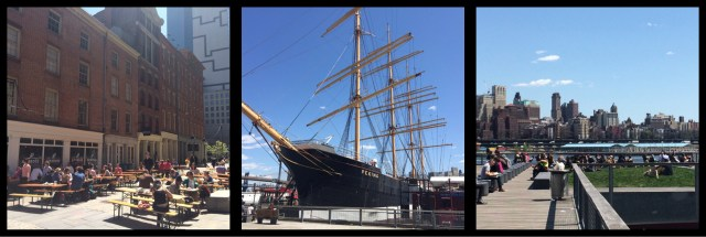 South Street Seaport Manhattan New York City