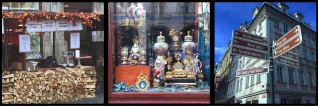 Antiques. Wenceslas Square. Prague. Czech Republic.