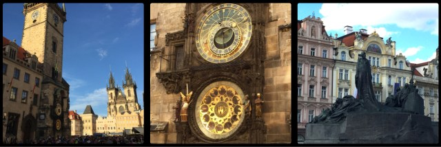 Old Town Square. Town Hall. Astronomical Clock. Prague. Czech Republic.