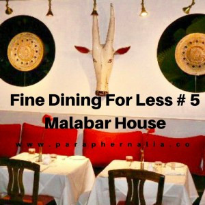Fine Dining Malabar House Fort Kochi India