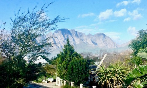 Franschhoek Village. South Africa.