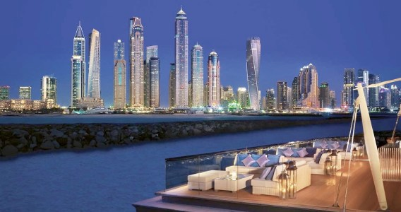 Dubai Guide Part #5. Palm Jumeirah. Dubai Marina. Dubai. UAE.