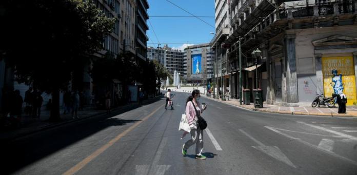 Μεγάλος περίπατος της Αθήνας: Μόνο με SMS η πρόσβαση των Ι.Χ στο εμπορικό τρίγωνο