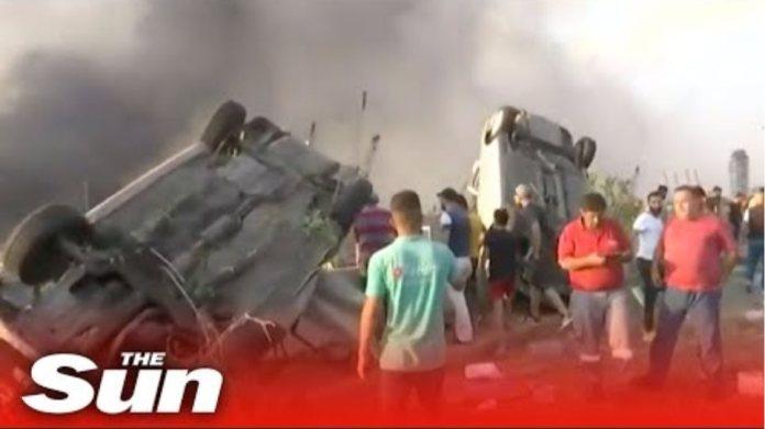 Live: Massive explosion shakes Lebanon's capital Beirut