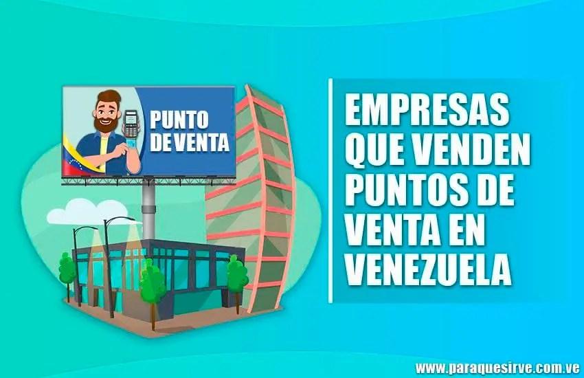 Comprar punto de venta en venezuela