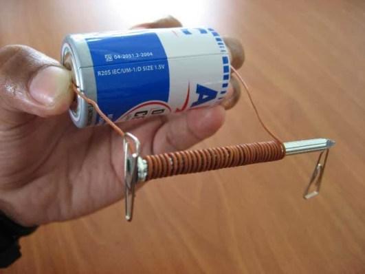 Cara Membuat Magnet Dengan Cara Elektromagnetik