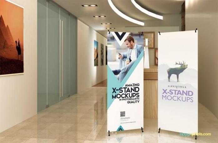 Ukuran X Banner Indoor