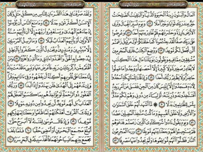 Surat Al Kahfi Ayat 46-61