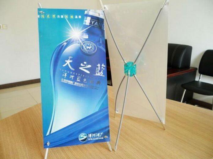 Ukuran Mini X Banner