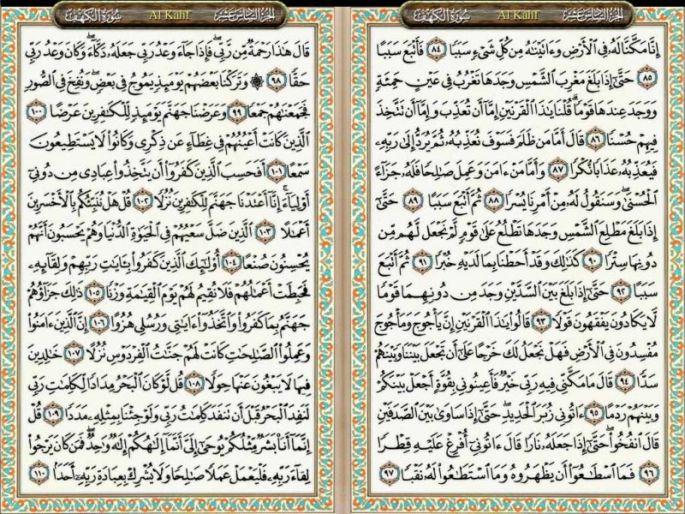 Surat Al Kahfi Ayat 84-110