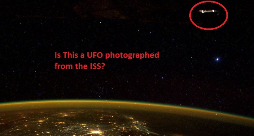 Does A Photo From The ISS Prove The Existence Of UFOs?
